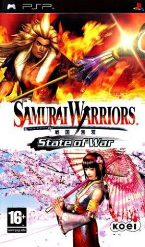 Copertina del gioco Samurai Warriors: State of War per Playstation PSP