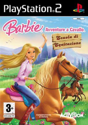 Copertina del gioco Barbie Avventure a Cavallo: Scuola di Equitazione per Playstation 2