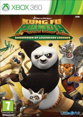 Copertina del gioco Kung Fu Panda: Scontro finale delle leggende leggendarie per Xbox 360
