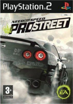 Immagine della copertina del gioco Need for Speed Pro Street per Playstation 2