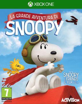 Copertina del gioco La Grande Avventura di Snoopy per Xbox One