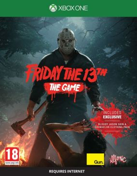 Immagine della copertina del gioco Friday the 13th : The Video Game per Xbox One