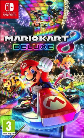 Immagine della copertina del gioco Mario Kart 8 Deluxe per Nintendo Switch