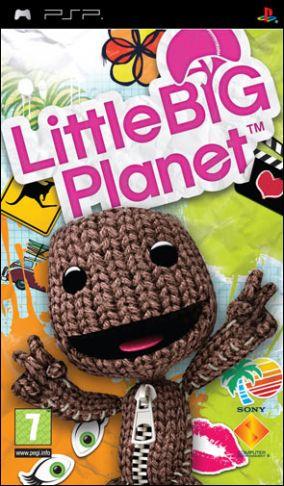 Immagine della copertina del gioco Little Big Planet per Playstation PSP