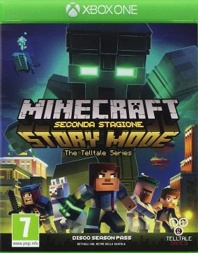 Copertina del gioco Minecraft: Story Mode - Season 2 per Xbox One