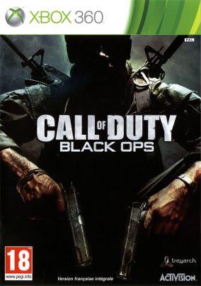 Copertina del gioco Call of Duty Black Ops per Xbox 360