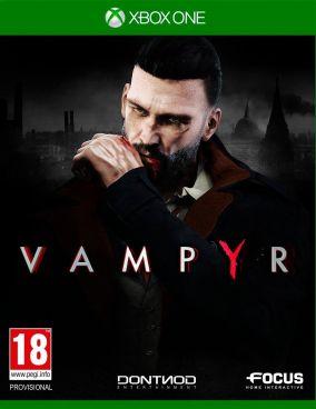 Copertina del gioco Vampyr per Xbox One