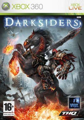 Copertina del gioco Darksiders per Xbox 360