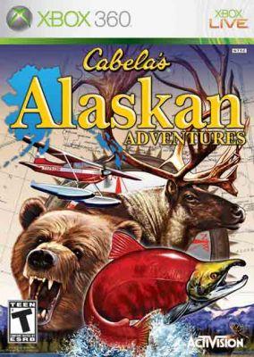 Copertina del gioco Cabela's Alaskan Adventures per Xbox 360