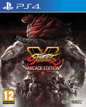 Copertina del gioco Street Fighter V: Arcade Edition per Playstation 4