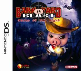 Immagine della copertina del gioco Barnyard Blast - il porcello delle tenebre per Nintendo DS