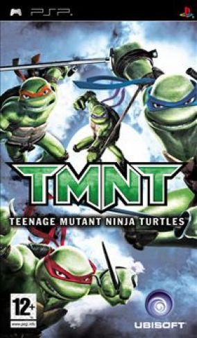 Copertina del gioco Teenage Mutant Ninja Turtles per Playstation PSP