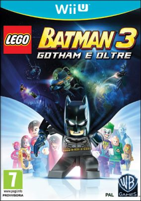 Copertina del gioco LEGO Batman 3: Gotham e Oltre per Nintendo Wii U