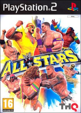 Copertina del gioco WWE All Stars per Playstation 2
