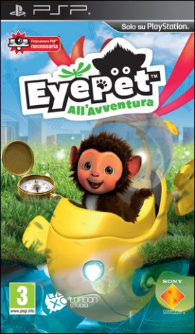 Copertina del gioco Eyepet all'avventura per Playstation PSP