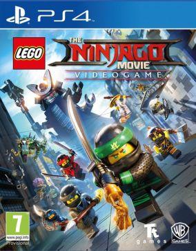 Copertina del gioco LEGO Ninjago Il Film: Video Game per Playstation 4