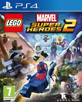 Immagine della copertina del gioco LEGO Marvel Super Heroes 2 per Playstation 4