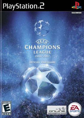 Copertina del gioco UEFA Champions League 2006-2007 per Playstation 2
