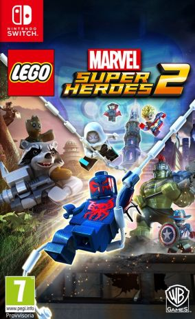Copertina del gioco LEGO Marvel Super Heroes 2 per Nintendo Switch