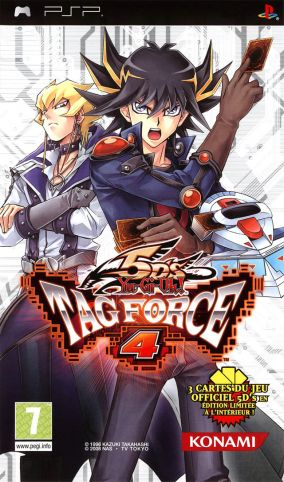 Copertina del gioco Yu-Gi-Oh! 5D's Tag Force 4 per Playstation PSP