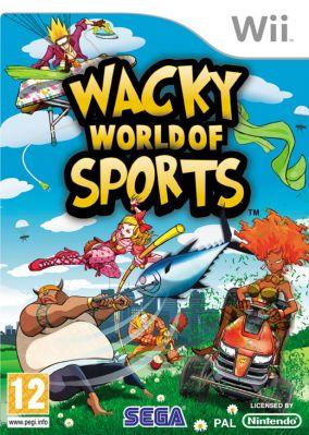 Copertina del gioco Wacky World of Sports per Nintendo Wii