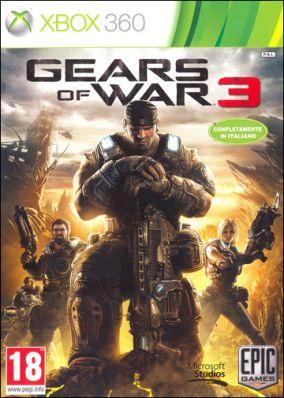 Copertina del gioco Gears of War 3 per Xbox 360