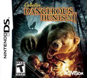 Copertina del gioco Cabela's Dangerous Hunts 2011 per Nintendo DS