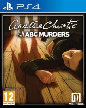 Copertina del gioco Agatha Christie: The A.B.C Murders per Playstation 4