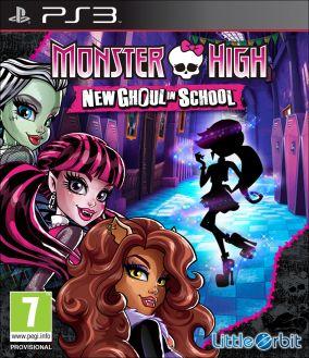 Copertina del gioco Monster High: Una nuova Mostramica a Scuola per Playstation 3