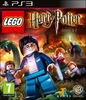 Immagine della copertina del gioco LEGO Harry Potter: Anni 5-7 per Playstation 3