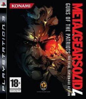 Immagine della copertina del gioco Metal Gear Solid 4: Guns of the Patriots per Playstation 3