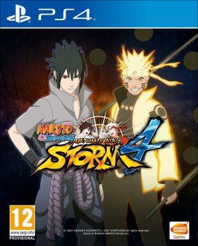 Immagine della copertina del gioco Naruto Shippuden: Ultimate Ninja Storm 4 per Playstation 4