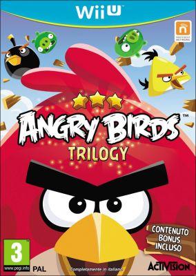 Copertina del gioco Angry Birds Trilogy per Nintendo Wii U