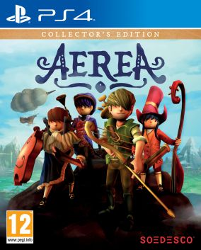 Copertina del gioco AereA per Playstation 4