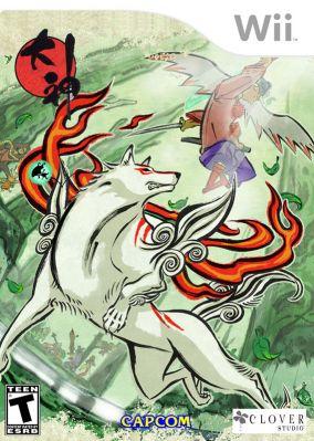 Copertina del gioco Okami per Nintendo Wii