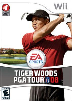 Immagine della copertina del gioco Tiger Woods PGA Tour 08 per Nintendo Wii