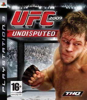 Copertina del gioco UFC 2009 Undisputed per Playstation 3