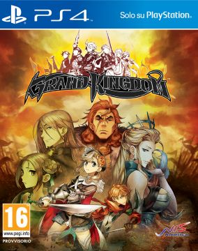 Copertina del gioco Grand Kingdom per Playstation 4