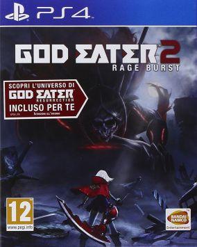 Copertina del gioco God Eater 2: Rage Burst per Playstation 4