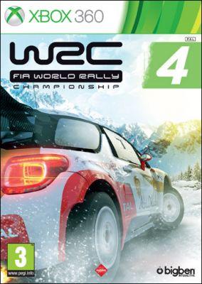 Immagine della copertina del gioco WRC 4 per Xbox 360