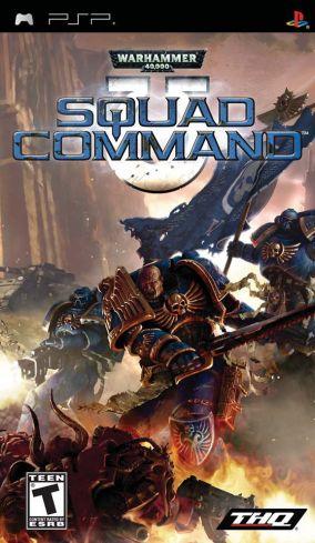Copertina del gioco Warhammer 40.000: Squad Command per Playstation PSP