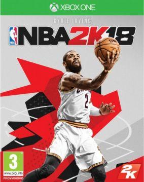 Immagine della copertina del gioco NBA 2K18 per Xbox One