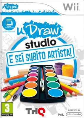 Copertina del gioco uDraw HD + E sei subito artista per Nintendo Wii