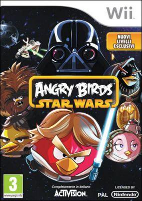 Copertina del gioco Angry Birds Star Wars per Nintendo Wii