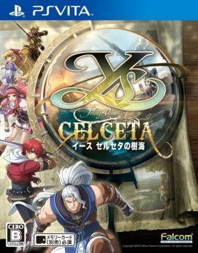 Copertina del gioco Ys: Memories of Celceta per PSVITA