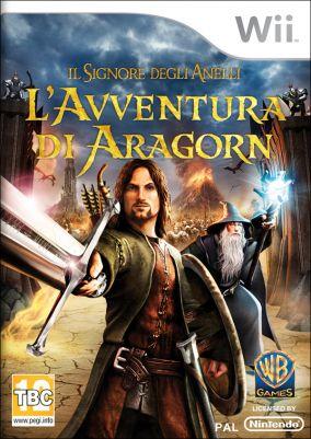 Immagine della copertina del gioco Il Signore degli Anelli: L'Avventura di Aragorn per Nintendo Wii