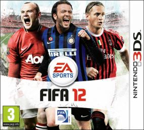 Immagine della copertina del gioco FIFA 12 per Nintendo 3DS