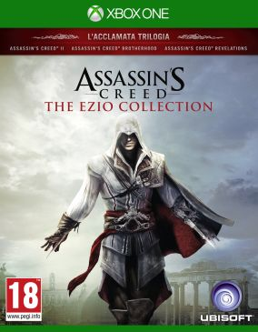 Copertina del gioco Assassin's Creed The Ezio Collection per Xbox One