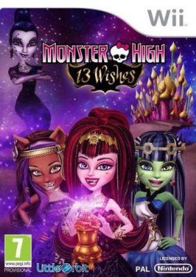 Copertina del gioco Monster High: 13 Desideri per Nintendo Wii