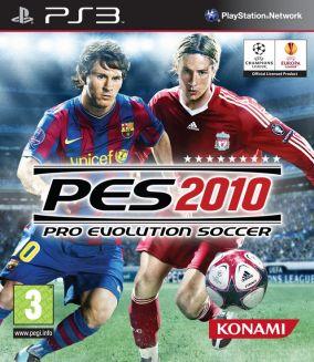 Immagine della copertina del gioco Pro Evolution Soccer 2010 per Playstation 3